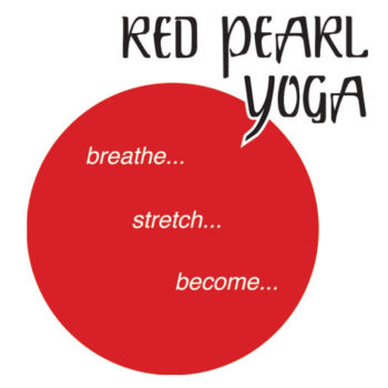 Red Pearl Yoga logo