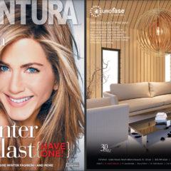 Aventura Magazine Ad for LBU Lighting