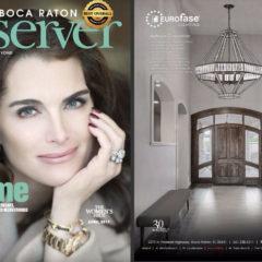 Boca Observer Magazine Ad for LBU Lighting