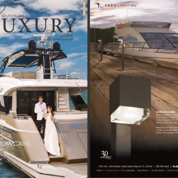 South Florida Luxury Guide Ad for LBU Lighting