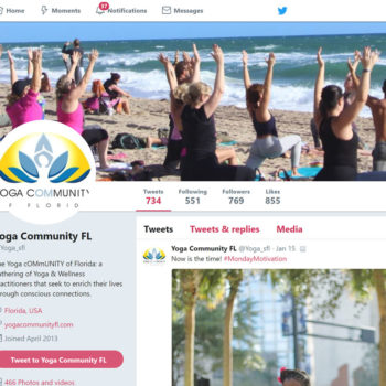 Yoga Community of Florida Twitter