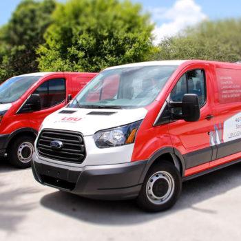LBU Lighting Vans