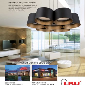 Modern Forms ad for LBU Lighting