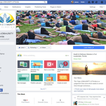 Yoga Community Facebook